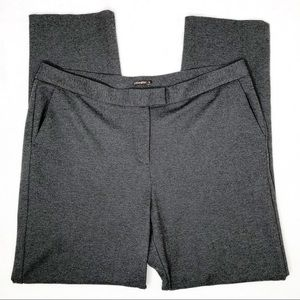 J. McLaughlin Grey Trouser Career Pants Flat Front